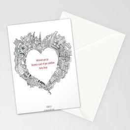 Wherever you go Stationery Cards