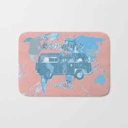 world map-adventure awaits 6 Bath Mat
