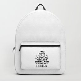 Scout Mum Backpack