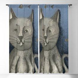 Fluffy kitten Blackout Curtain