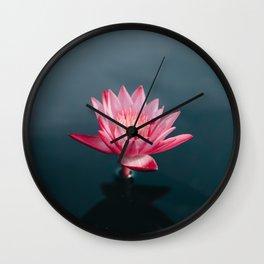 lotus #society6 #decor #buyart Wall Clock