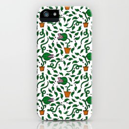 man eating plant iPhone Case