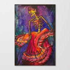 Folklorico Dancer Canvas Print