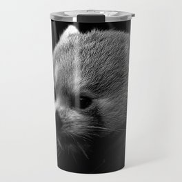 Awesome B&W red Panda Travel Mug