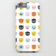 Moody cats  Slim Case iPhone 6s