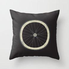 Stay True - Fixie Bike Wheel Throw Pillow