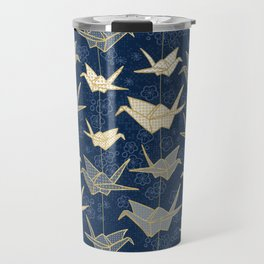Sadako's Good Luck Cranes Travel Mug