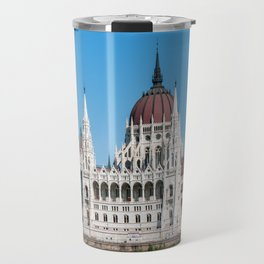 Hungarian Parliament Building in Budapest Travel Mug