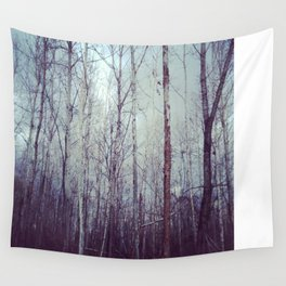 White Birch Woodland Wall Tapestry