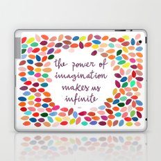 Imagination [Collaboration with Garima Dhawan] Laptop & iPad Skin