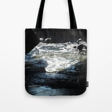 Laguna Beach Surf on the Rocks #1 Tote Bag