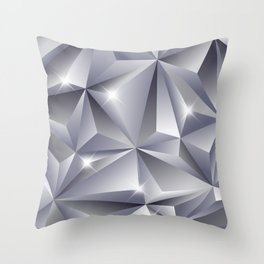 Diamond 01 Throw Pillow