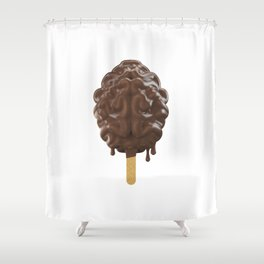 Because, Chocolate Shower Curtain