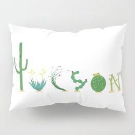 Tucson Cacti Letters Pillow Sham