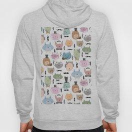 Aristocats Seamless Pattern Hoody