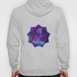 Card Yoga girl Hoody