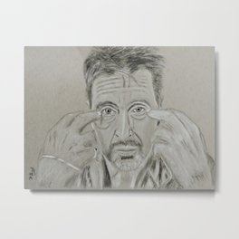 Al Pacino Metal Print