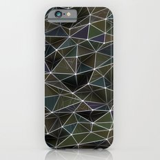 Abstract Digital Waves iPhone 6s Slim Case