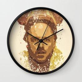 Breaking Bad, Jesse Pinkman splatter painting Wall Clock