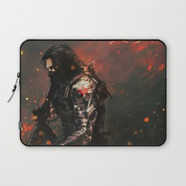 Blood in the Breeze Laptop Sleeve