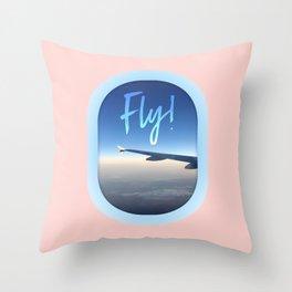 Travel Bound Throw Pillow