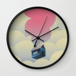 Skying Wall Clock