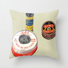 SOME OF MY STUFF Throw Pillow