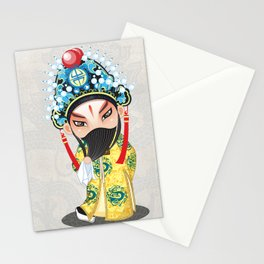 Beijing Opera Character LiuBei Stationery Cards