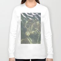 copenhagen Long Sleeve T-shirts featuring Submerged bike Copenhagen by RMK Creative