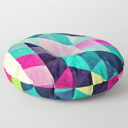 Cyrvynne xyx Floor Pillow