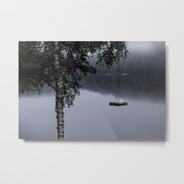 cottage life by the lake Metal Print