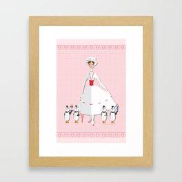 Jolly Holidays Framed Art Print