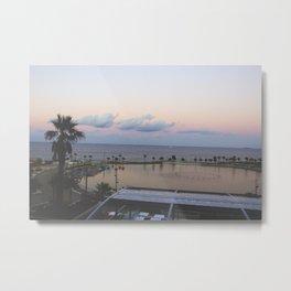 Sunset in Malta, Malta Metal Print