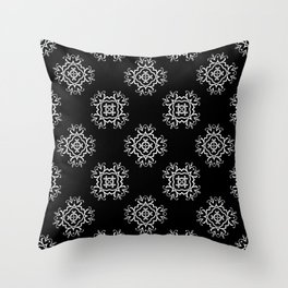 Abstract vintage pattern 2 Throw Pillow