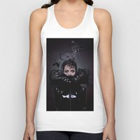 cigarettes Tank Tops featuring Black Coffee and Cigarettes  by Karah Robinson- Art