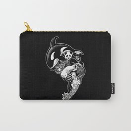 Monochromanimal (black) Carry-All Pouch