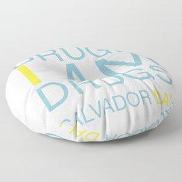 I don't do drugs. I am drugs! Floor Pillow