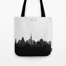 City Skylines: Delhi Tote Bag