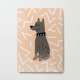 The Doberman Metal Print