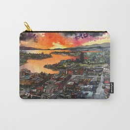 South Island Sunset Carry-All Pouch