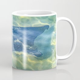 Stingray at Pacific Ocean, Galapagos - Ecuador Coffee Mug