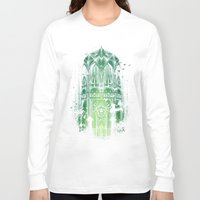 bats Long Sleeve T-shirts featuring The Song Of Bats by Robson Borges