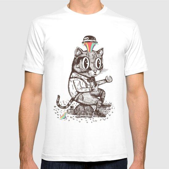 Strange Cat T-shirt