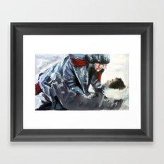 fire and ice II Framed Art Print