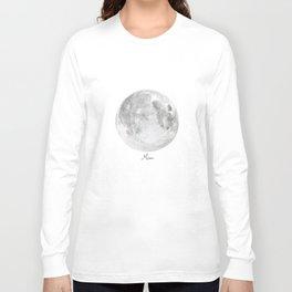 Moon planet Long Sleeve T-shirt