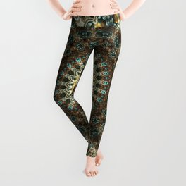 Gorgeous Earth Jewel Mandala Leggings