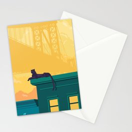 Urban jaguar Stationery Cards