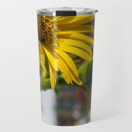 Yellow Flower in NYC Travel Mug