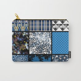 Favorite blanket and pillows . Patchwork 2 Carry-All Pouch