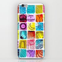 school iPhone & iPod Skins featuring School by Verismaya